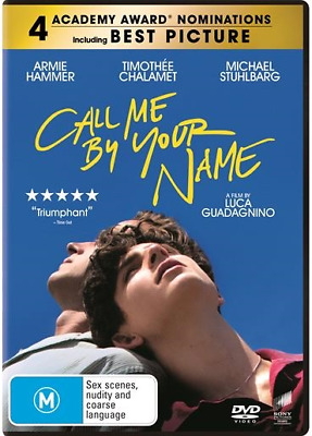 AU13.95 • Buy Call Me By Your Name : NEW DVD