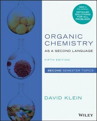 $47.85 • Buy Organic Chemistry As A Second Language : Second Semester Topics, Paperback By...