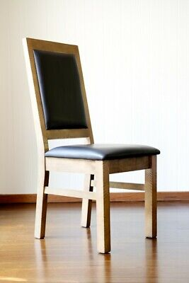 AU680 • Buy 8 New, Handmade, Rustic, Country, Timber, Melrose Dining Chairs