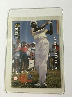 $289.95 • Buy Michael Jordan 1994 Upper Deck Pro File #204 Golf Card Rare