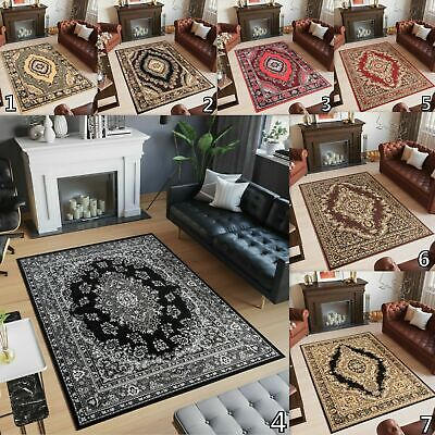 Traditional Area Rugs Floral Pattern Elegant Rug Classic Design Small X Large • 26.90£