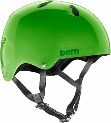 Bern Diablo Boys Youth EPS Team Fit Bike Cycle Helmet Green Youth Large • 29.95£