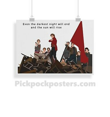 £2.99 • Buy Les Miserables, Quote, Print, Poster, Prints, Posters, Wall Art, Gift, Gifts