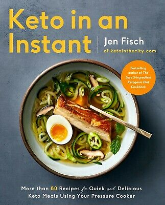 $14 • Buy Keto In An Instant Cookbook By Jen Fisch 2019 Paperback