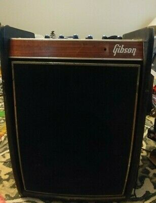 $ CDN637.94 • Buy Vintage 1969 Gibson Duo-Medalist 25 Watts All Tube Combo Amp! Eminence Legend !