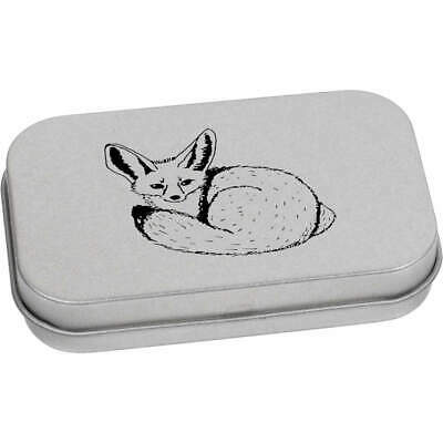 'Fennec Fox' Metal Hinged Tin / Storage Box (TT016001) • 6.99£