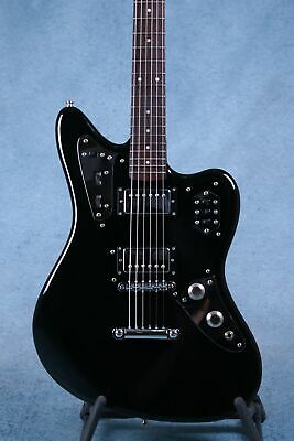 AU1246.96 • Buy Fender MIJ Jaguar Special Black HH Electric Guitar - Preowned