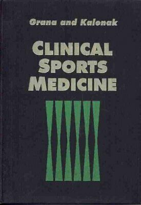 £2.92 • Buy Clinical Sports Medicine