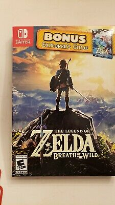 $60 • Buy The Legend Of Zelda: Breath Of The Wild (Nintendo Switch) With Explorer's Guide