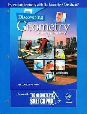 $5.53 • Buy Discovering Geometry  An Investigative Approach - With The Geometer S