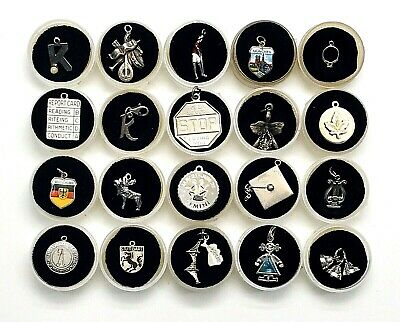 $ CDN13.03 • Buy Lot Of 20 - Vintage 925 Sterling Silver Charms - (lot 4)