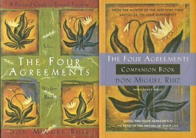 $8.99 • Buy B007G3TH4O The Four Agreements And The Four Agreements Companion Book
