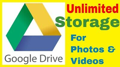 AU14.99 • Buy Unlimited Google Drive Storage ✔️ Fast Delivery ✔️ Yours For Life ✔️ Extras