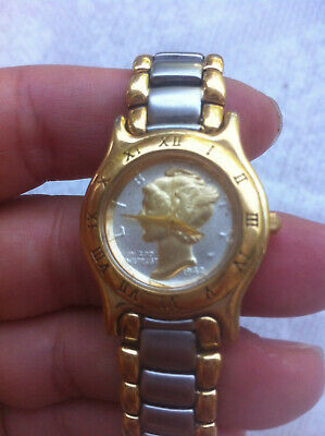 $ CDN250 • Buy Vintage Old 1942 Swiss/US Liberty Coin Dial Watch/wristwatches Antique