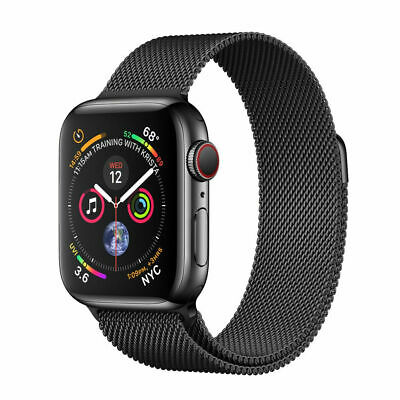 $ CDN177.38 • Buy Apple Watch Series 4 40 Mm Space Black Stainless Steel Case With Space Black...