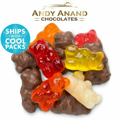$34.84 • Buy Andy Anand Sugar Free Belgian Milk Chocolate Gummy Bear Box Free Air Shipping