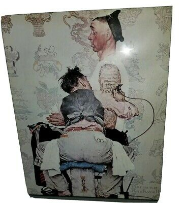 $ CDN39.27 • Buy Norman Rockwell,  The Tattoo, Un-framed, 10 X 8 In , Fits A Frame Of 13 X 11 In.
