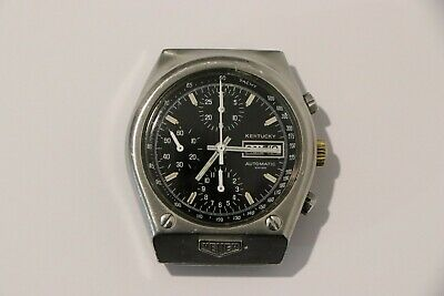 $ CDN1076.19 • Buy Watch Heuer Kentucky Automatic Chronograph 39mm Ref.372976 Vintage