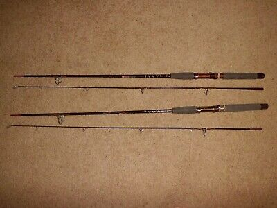 $359.99 • Buy 2- Vintage Garcia Conolon 7567 Light Spinning 6'6  Rods Made In USA- 4-8lb Test