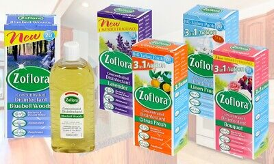 Zoflora Concentrated Disinfectant 500ml For £6.99 With Free Delivery • 6.99£