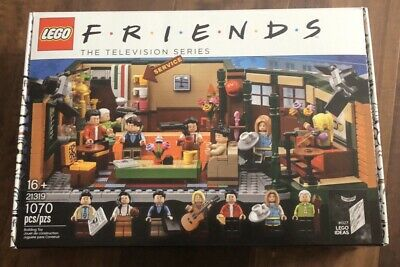 $84.95 • Buy NEW LEGO Friends TV Show Central Perk Cafe Ideas 1070 Piece Set 21319 In-hand