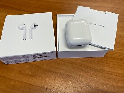 AU162.50 • Buy Apple AirPods 2nd Generation With Wireless Charging Case - White