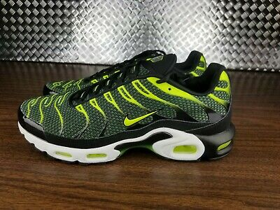 $129 • Buy Nike Men's Air Max Plus TN Running Shoes Black Volt Size 13 852630-036