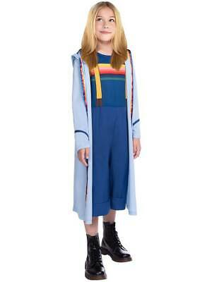 Childs 13th Doctor Who Fancy Dress Costume Jodie Whittaker Dr Girls Book Week • 16.99£