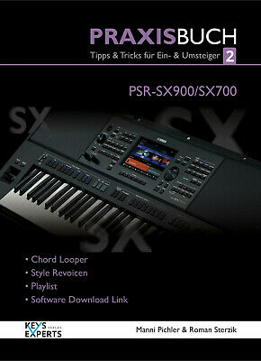 AU51.55 • Buy The Practice Book For Yamaha PSR-SX900/700Keyboard Band 2 Speech German! SX 900