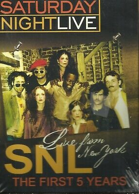 $4.99 • Buy SATURDAY NIGHT LIVE SNL - The First 5 Years DVD New Sealed $0.99 USA Shipping