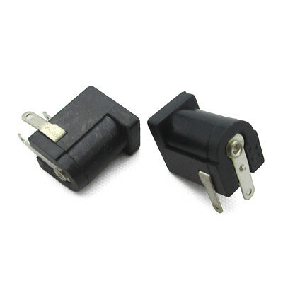 $0.99 • Buy Black DC Power Supply Jack Socket Female PCB Mount Connector 5.5x2.1mm 10PCS