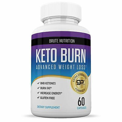 $9.75 • Buy Brute Nutrition Keto Burn Advanced Weight Loss (60 Capsules) EXP. 05/2021