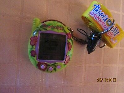 AU79.90 • Buy Tamagotchi Bandai Green With Flowers And Purple Buttons
