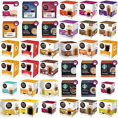 NESCAFE DOLCE GUSTO COFFEE PODS (1 BOX )-Buy 2 Get 1 FREE (Add 3 To Basket) • 6.99£