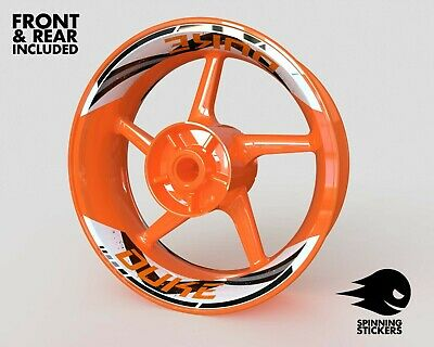 £59.25 • Buy Wheel Stickers For KTM DUKE 690 790 890 990 Rim Tape Motorcycle Decals Graphic