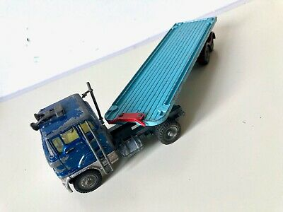 Corgi Major Toys Ford Tilt Cab Truck Container Articulated With Two Trailers • 30£