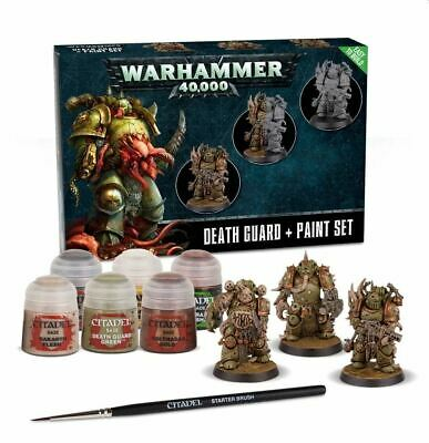 Death Guard Paint Set, Citadel Paint, Warhammer 40,000 / Age Of Sigmar • 20£