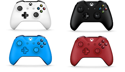 Official Microsoft Xbox One S Wireless Controller 3.5mm Jack Various Colours UK • 31.95£