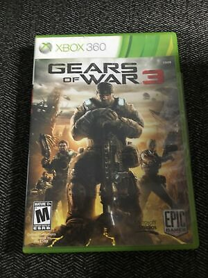 $7.95 • Buy Gears Of War 3 - Xbox 360 - With Manual - Free S/h - (o)
