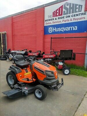 AU5399 • Buy Husqvarna TS352 Ride On Mower - Just 30 Hours Save THOUSANDS! Now Just $5399