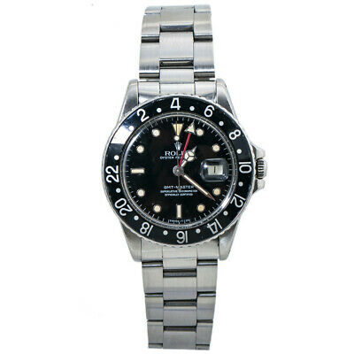 $ CDN18682.62 • Buy Rolex GMT-Master 16750 Matte Dial Mens Automatic Vintage Watch Stainless 40mm