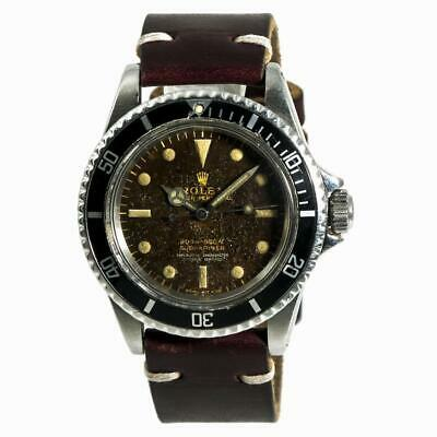 $ CDN24235.74 • Buy Rolex Submariner 5512 Mens Automatic Vintage Watch Tropical Gilt Dial 40mm