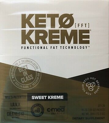 $75 • Buy  KETO SWEET KREME By Pruvit New Unopened Box Of 20 FAST SHIPPING! Coffee Creamer