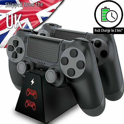 AU17.93 • Buy PS4 Charger, Compact Fast PS4 Controller Charging Dock Stand Station