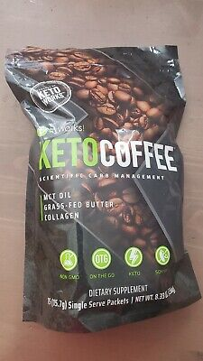 $25 • Buy It Works! Keto Coffee 15 Individual Packets In Manufactures  Sealed Bag