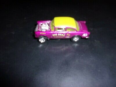 $10 • Buy Hot Wheels 2019 1955 Chevy Bel Air Gassers With Real Riders Loose