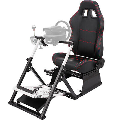 AU354.99 • Buy Racing Simulator Cockpit Gaming Chair W/ Stand For Logitech G27/G29/G920/T500RS