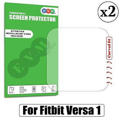 $ CDN4.52 • Buy Screen Protector For Fitbit Versa TPU Hydrogel FILM Cover - Pack Of Two