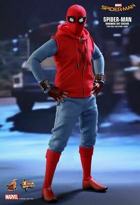 AU799 • Buy Hot Toys MMS 414 Spider-Man Homecoming (Homemade Suit Version) Peter Parker NEW