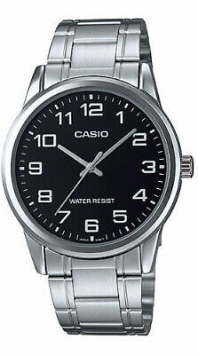 AU42 • Buy Casio Mens Watch MTP-V001D-1B Stainless Steel Case & Band Japanese Movement